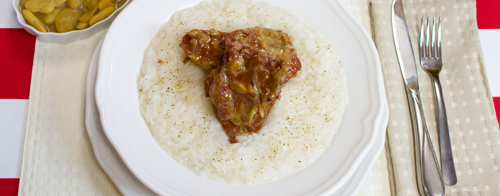 Neck Bones and Rice – A southern staple, food for the soul.